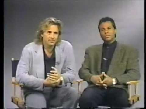 Don Johnson und Philip M. Thomas Interview to 100th Ep. Miami Vice 1989