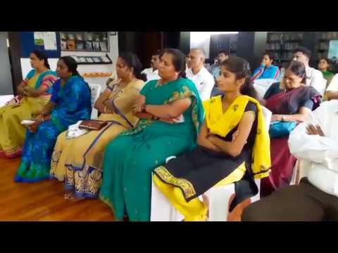 Dr.A.K.Prakasan Gurukkal at International Yoga Day Celebration , Bangalore - part-1