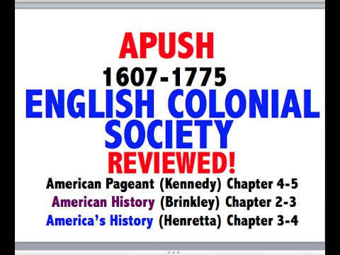 American Pageant Chapter 4-5 APUSH Review