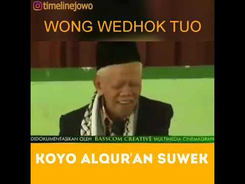Status Wa Lucu Bahasa Jawa (alquran Suwek)