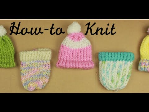How To Knit On A Loom Knitting Your First Hat Youtube
