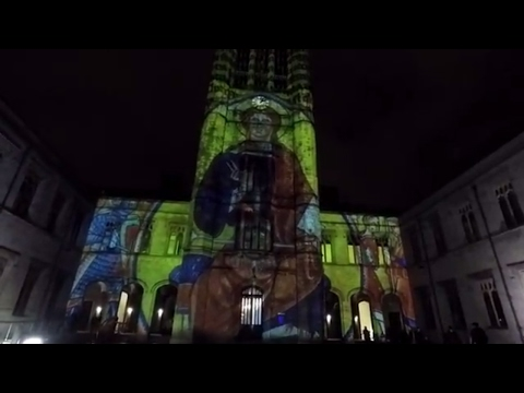 We go to town to look around Spectra's Aberdeen Festival of light part one
