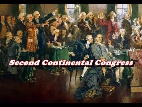 History Brief: The Second Continental Congress