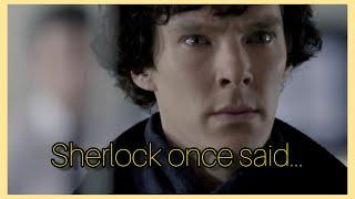 Sherlock once said (hem de altyazılı💛)