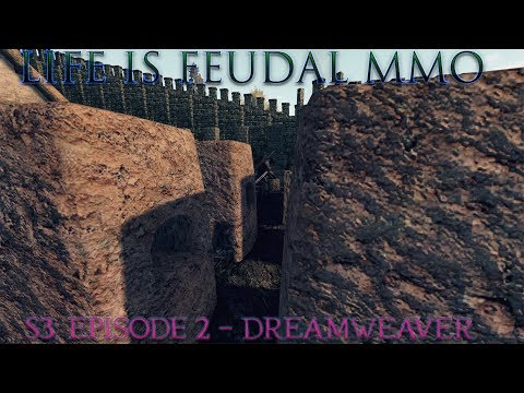 Life is Feudal: MMO - S3| Episode 2: Dreamweaver - Master ⚒Blacksmith (1080p) 60FPS
