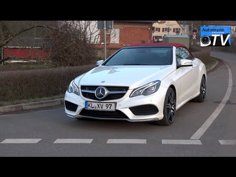 2015 mercedes e 500 cabrio 407hp drive sound 1080p for Mercedes benz 400 se
