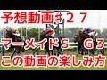 競馬で金をかせぐ♯27(予想)マーメイドステークスG3