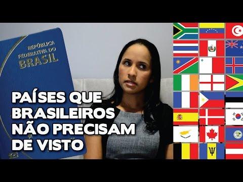 Países que brasileiros