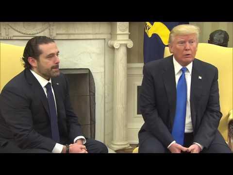 Trump praises 'progress' made in Lebanon