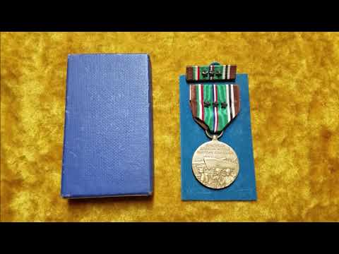 U.S. WWII Medals - EAME Campaign Medal