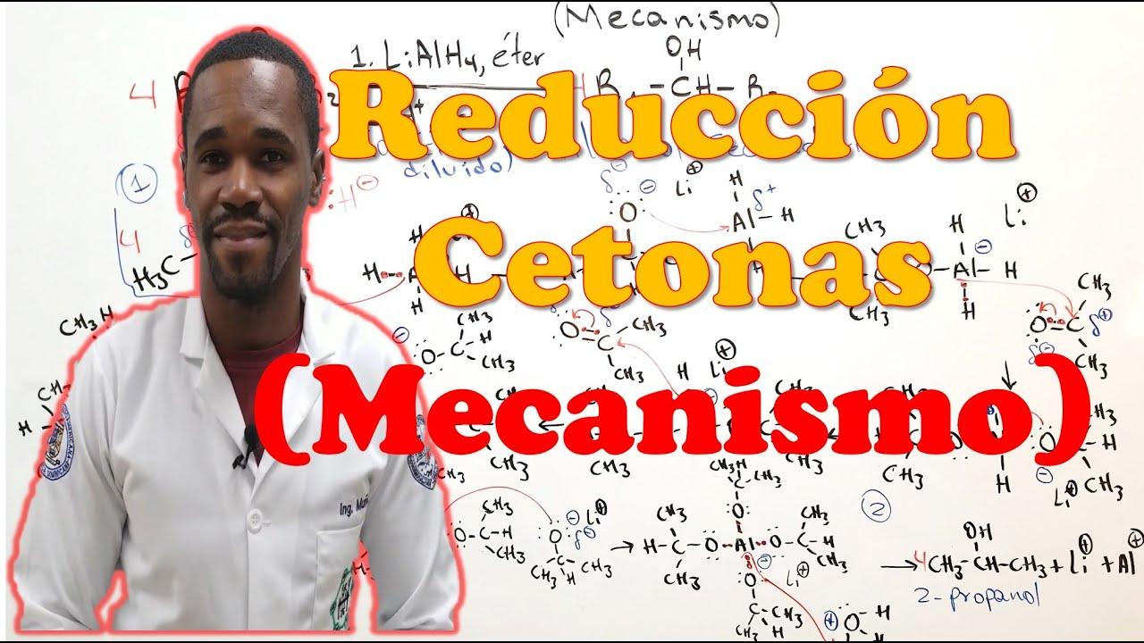 Reducción de Cetonas con LiAlH4 | Mecanismo de Reacción