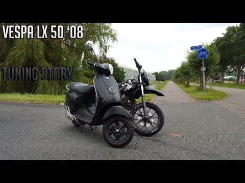Auspuff original Vespa LX 50 4Takt 2V