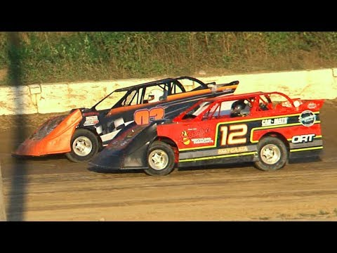 Super 6 Late Model Heat Two | Genesee Speedway | 8-10-19