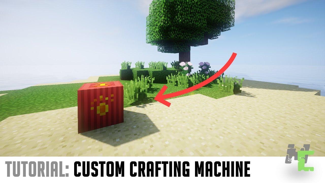 MCreator Tutorial: Using procedures for a custom crafting block