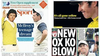 The Sports Pages: McIlroy's teenage dream and New Ox KO