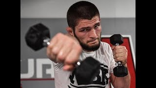 NEW!!! Khabib  training for Conor  McGregor / UFC 229