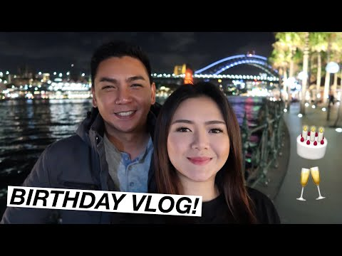 BIRTHDAY VLOG AT INTERCONTINENTAL SYDNEY
