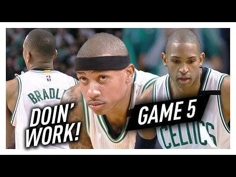 Isaiah Thomas, Al Horford & Avery Bradley Game 5 Highlights vs Wizards 2017 Playoffs ECSF - NASTY!