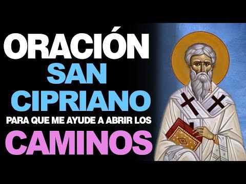🙏 Oración a San Cipriano PARA ABRIR CAMINOS 🙇️