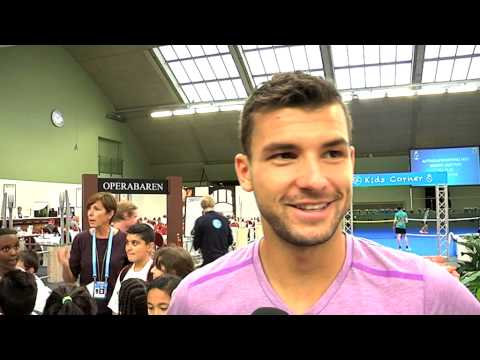 Grigor Dimitrov om If Stockholm Open