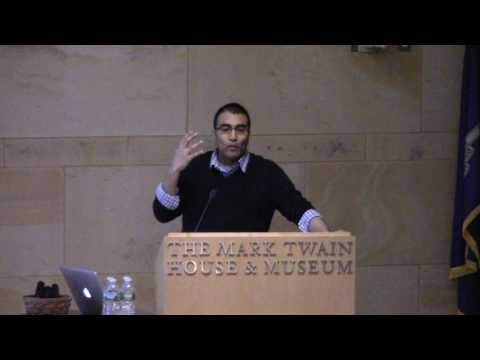 Hemant Mehta speaking for C.A.R.E. at The Mark Twain House  & Museum