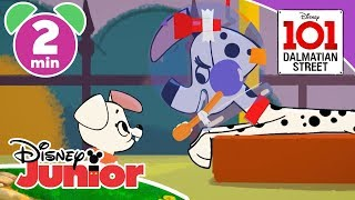 101 Dalmatian Street | Space Pups 🚀 | Disney Junior UK