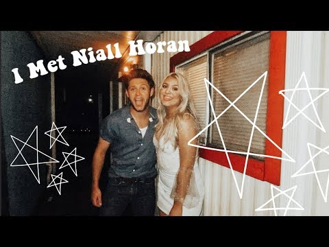 HANGING OUT WITH NIALL HORAN BACKSTAGE?! My Experience + Story Time