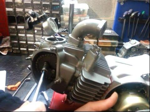 (ENG) Timing Camshaft tuning LCA 4 stroke engine Kawasaki KLX YX150 Zongshen ZS155 SSR PitBike