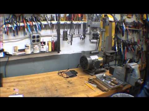 TOUR of tubalcain's Machine Shop mrpete222