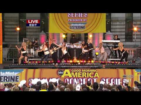 The Pussycat Dolls - Buttons (GMA - 30th June 2006) HQ HD