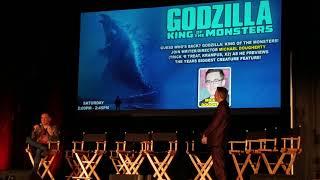 Michael Dougherty's Biggest Fan Moment-Godzilla: King Of Monsters Set