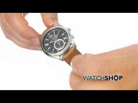 8370cfaf1 Michael Kors Men's Aiden Chronograph Watch (MK8416) - YouTube