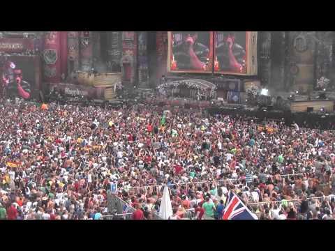 Tomorrowland 2012 Amazing Crowd !!! Dj Hardwell