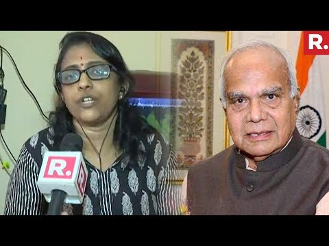 TN Governor Banwarilal Purohit Issues Apology To Journalist Laxmi Subramanian