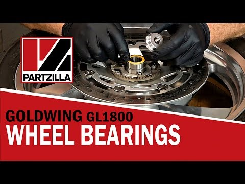 Honda Goldwing Front Wheel Bearing Replacement    Partzilla.com