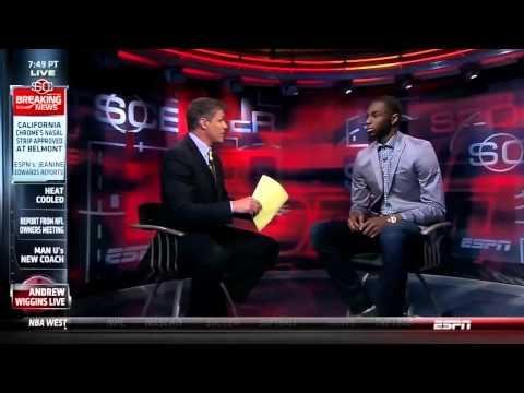 Andrew Wiggins Intervew On Sports Center Full Interview HD