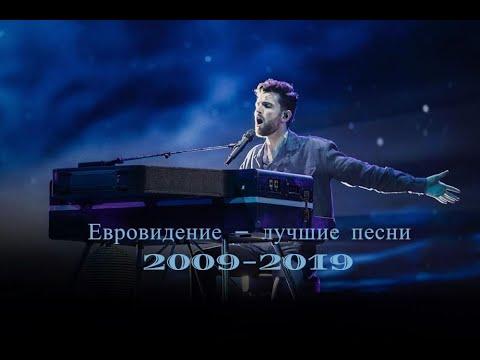 Евровидение - лучшие песни 2009-2019