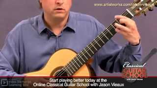 Classical Guitar Lesson: Jason Vieaux teaches Bouree