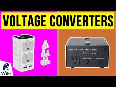 8 Best Voltage Converters 2020
