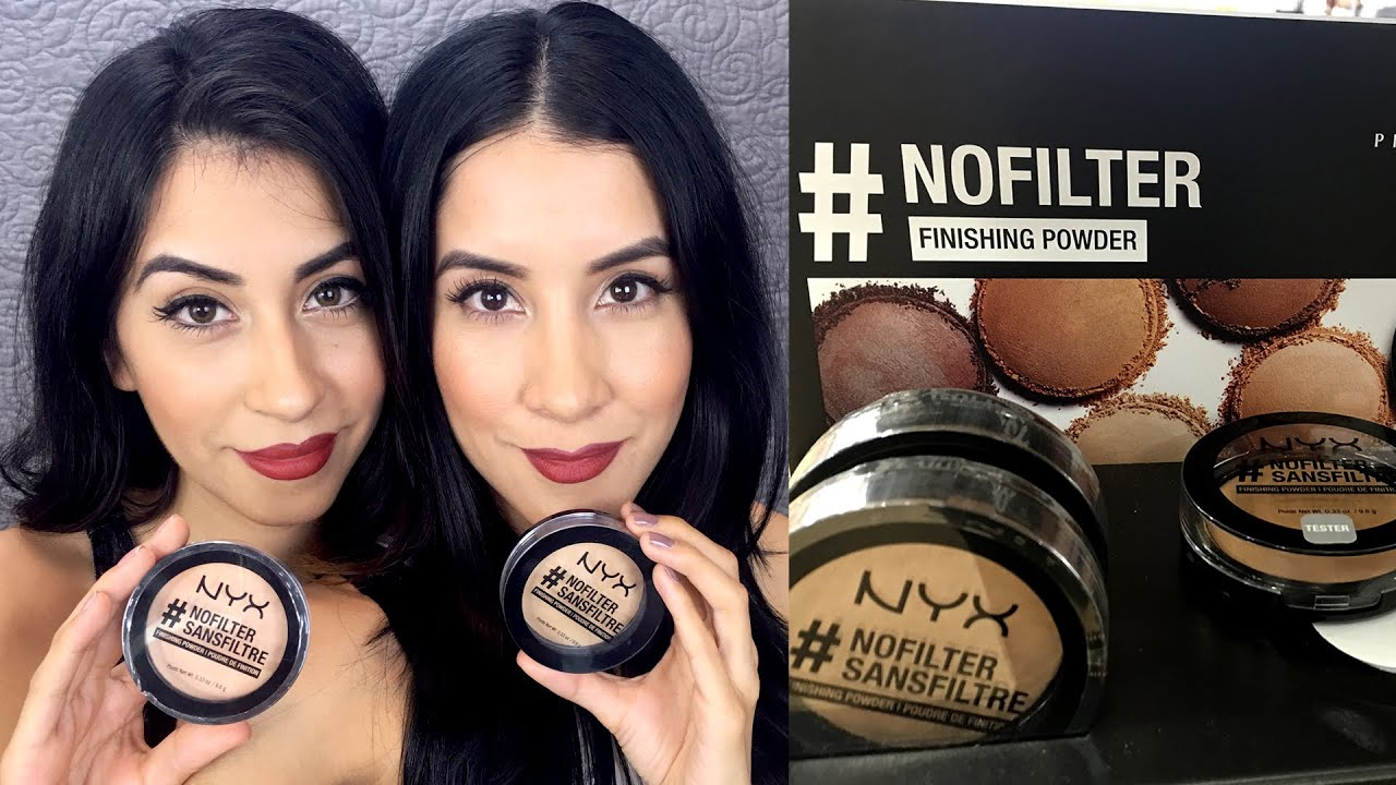 NYX #NoFilter Finishing Powder Review - YouTube