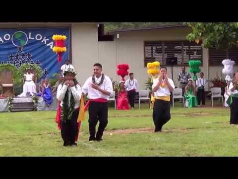 2013`  LAZARUS MIURA SIMBAHON`  May Day `King` @ Leihoku Elementary School` HULA`