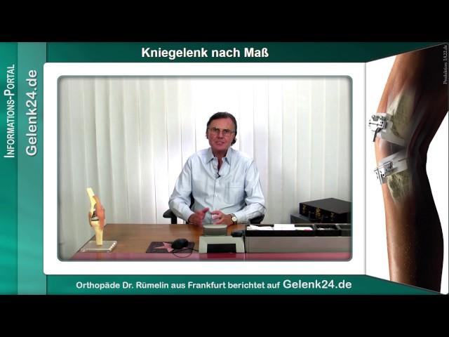 Kniegelenk nach Mass künstlicher Gelenkersatz Gelenkschmerzen Arthrose Gelenk24 de