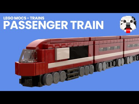 Mini Lego Passenger Train Model Video Instructions Youtube