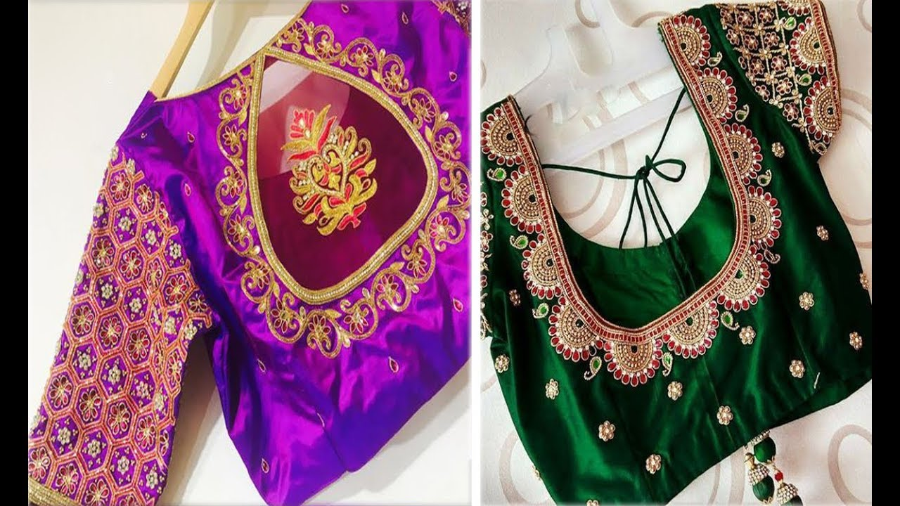 Maggam Work Blouse Designs Images Latest 2019 Latest Maggam Work Blouse Designs Images Blouses Discover The Latest Best Selling Shop Women S Shirts High Quality,Simple Wedding Cake Designs