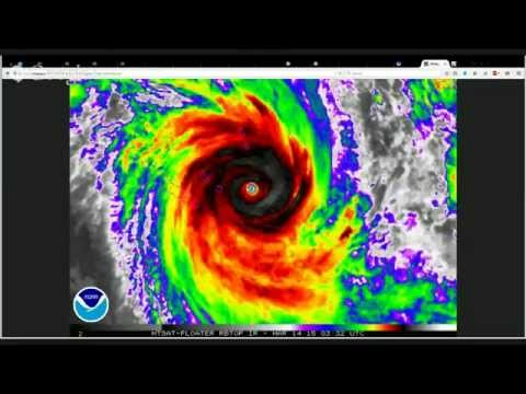 LIVE Discussion on Cyclones Pam, Nathan, and Bavi