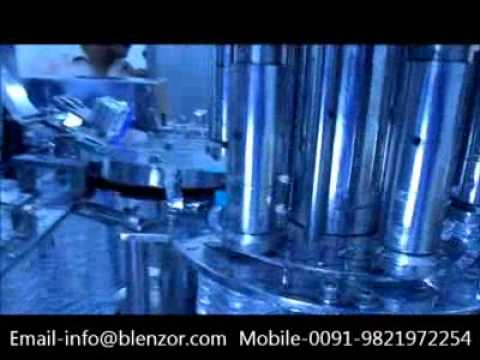 Bottled Water Filling Machine, Fully-Automatic Bottling Line for Juices
