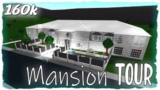 Touring My 160k$ Mansion!! Roblox| Bloxburg