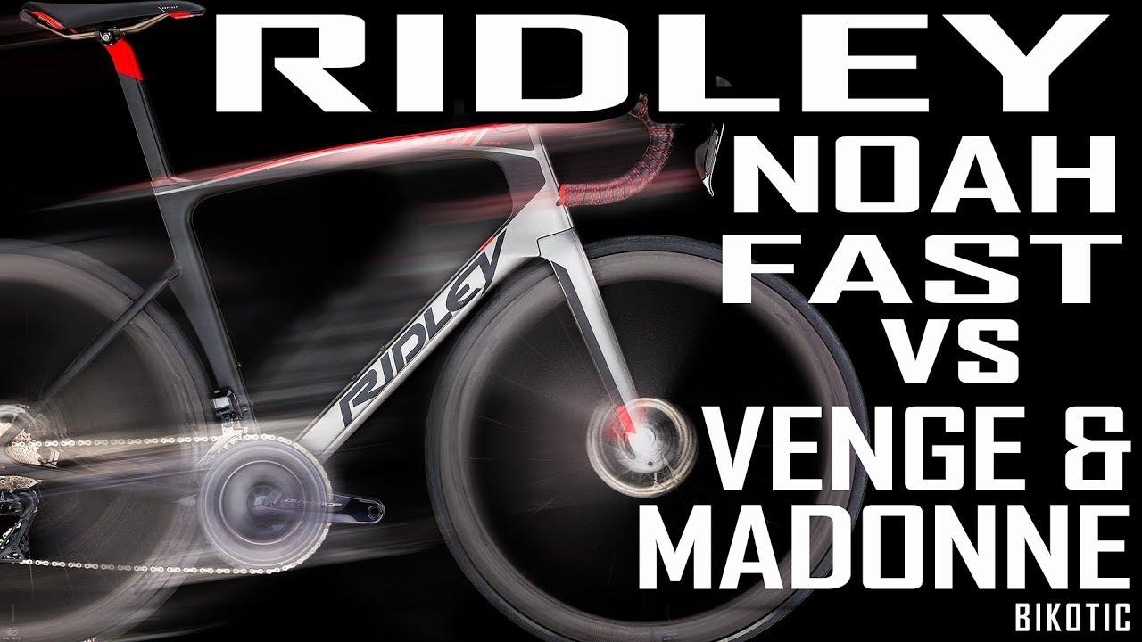 RIDLEY NOAH FAST VS VENGE   MADONE - YouTube 3ebb2e87d
