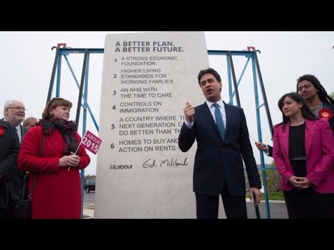 Miliband's 'Ed Stone' helps land Labour a £20,000 fine