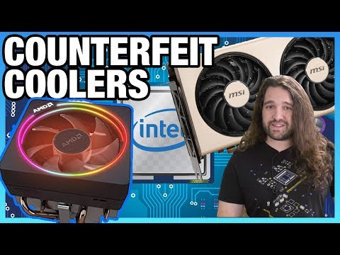HW News - Counterfeit AMD Coolers, Radeon Vulnerability Patch, Intel Earnings